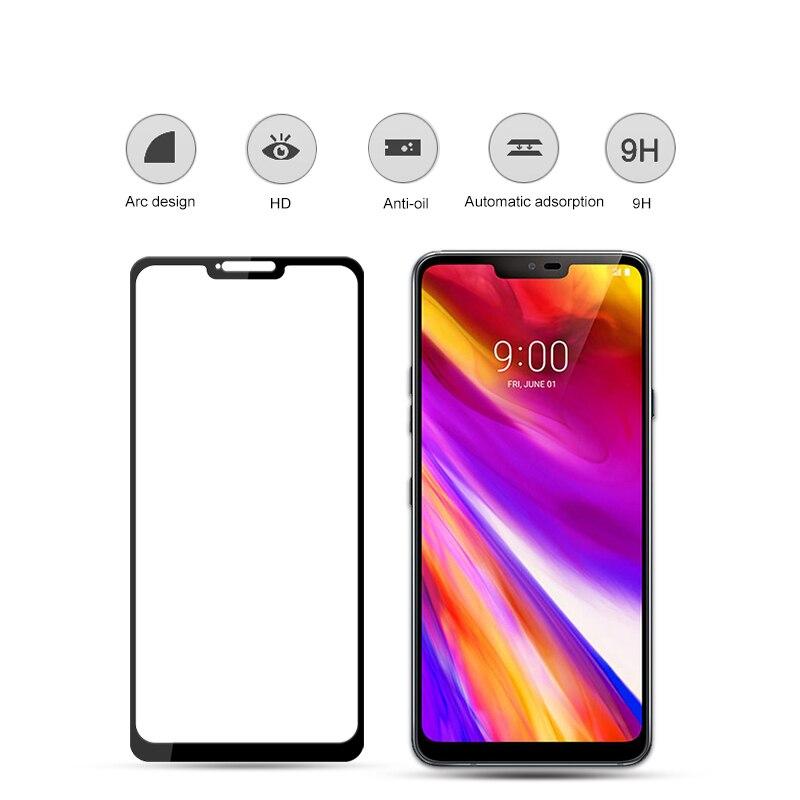 Image 5 - 3D LG G7 ThinQ 9 H 보호 필름 방폭 스크린 프로텍터 G710EM LMG710EM폰 강화유리   -