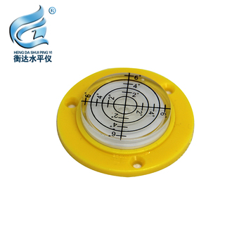 Scale Round Spirit Level Bubble Inclinometer Level Measuring Instrument Size 49*10mm aneng 32x7mm bulls eye bubble degree marked surface spirit level for camera circular