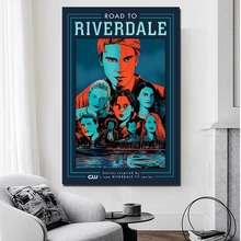 Road To Riverdale Canvas Painting Prints Living Room Artwork Home Decoration Modern Wall Art Posters Pictures