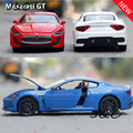 Горячий Новый 1:32 Maserati GT Металлического Сплава Литья Под Давлением Игрушечных Автомобилей Модели Маленького Масштаба Модель Звук и Свет Эмуляции Электрический Автомобиль