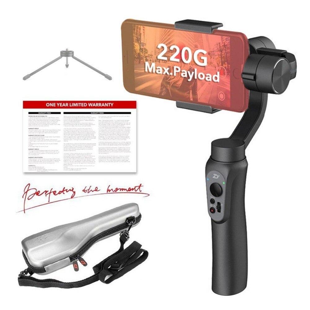 Zhiyun Offizielle Glatte-Q Hand Gimbal 3-achsen Tragbare Gimbal Stabilizer für Smartphone wie iPhone Sumsung Vlogger muss