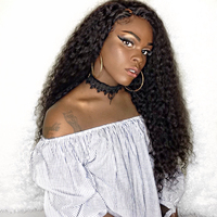 180 Density Full Lace Human Hair Wigs Pre Plucked Brazilian Loose Curly Remy Hair Honey Queen