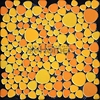 Shipping Free Yellow Orange Color Ceramic Mosaic Tiles Pebble Design Swimming Pool Bathroom Floor HME7009 11