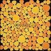 Shipping Free Yellow Orange Color Ceramic Mosaic Tiles Pebble Design Swimming Pool Bathroom Floor HME7009 11