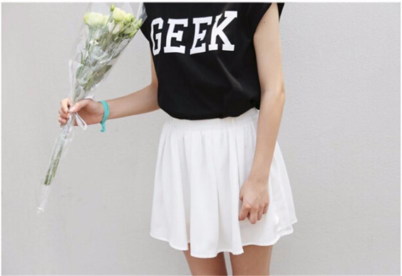 HTB1o0 LKXXXXXXNaXXXq6xXFXXX6 - Summer Style Geek Letter Print T Shirt Women