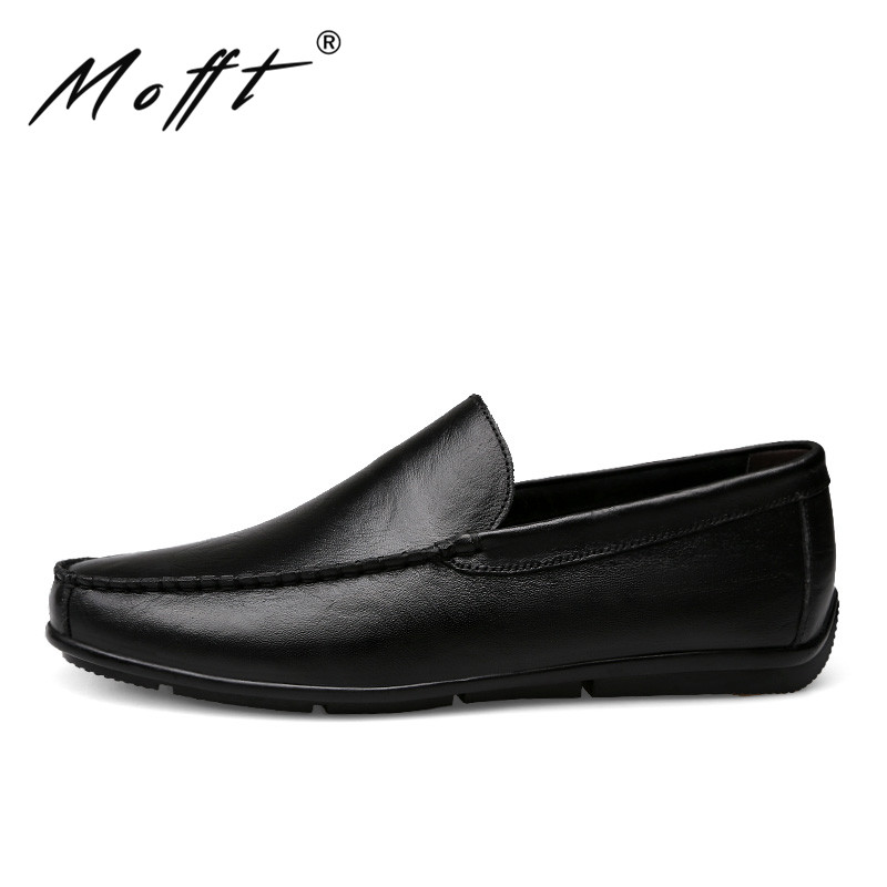 New Men Driving Shoes Fashion Designer Slip on Men Handmade Moccasins Shoes Comfort Loafers Genuine Leather