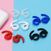 Colorful Non-slip Silicone Case Cover Anti-lost Eartips Strap for Bluetooth Wireless Airpods Wireless Headphone Set Accessories(China)