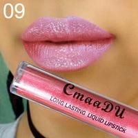 Matte Lipstick Red Lipstick Liquid Lip Gloss Waterproof Ladies Elegant 15 Color Set Lip Make Up