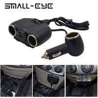 Pequeña Venta caliente ojo 5 V/3.1a triple USB car Charger 3 puertos DC 12 V/24 V para el teléfono móvil y iPad 6s iPhone 6 GPS