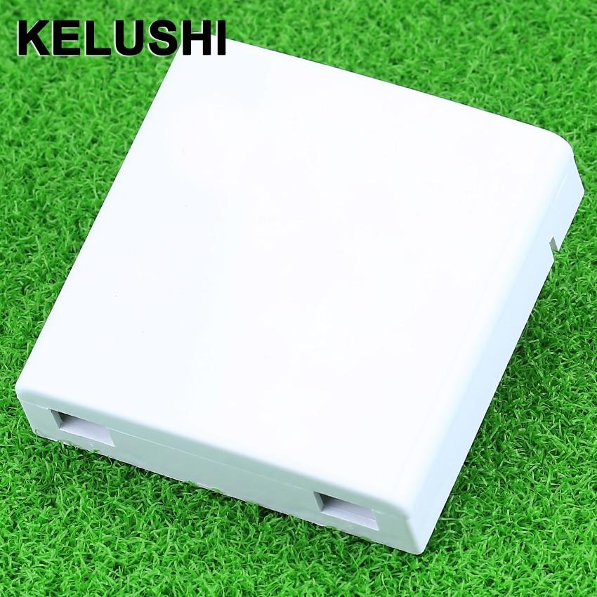 KELUSHI FTTH panel fiberoptisk terminal forbindelsesboks 86 informationspaneler Desktop Box 30stk / partier Special engros