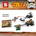 SY502 Building Blocks Super Heroes Star Wars   Rebels Ezra's Speeder Bike Sabine Wren Stormtrooper EZRA BRIDGER Figures
