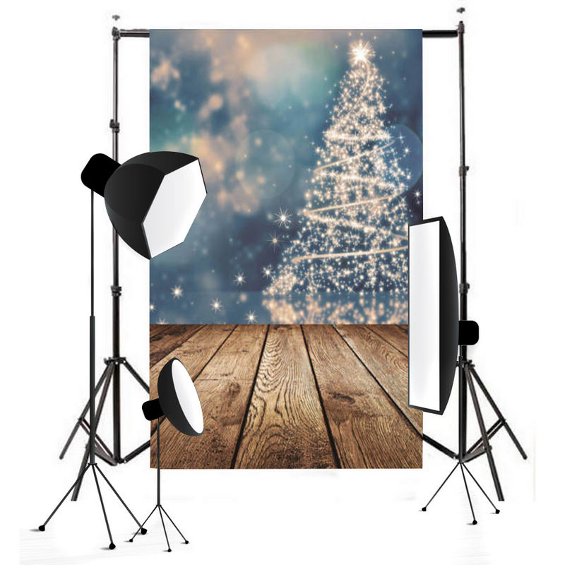 Mayitr New Vinyl Christmas Tree Backdrop 5x7ft Children Wood Trees Floor Photography Background Prop Photo Studio flame trees of thika