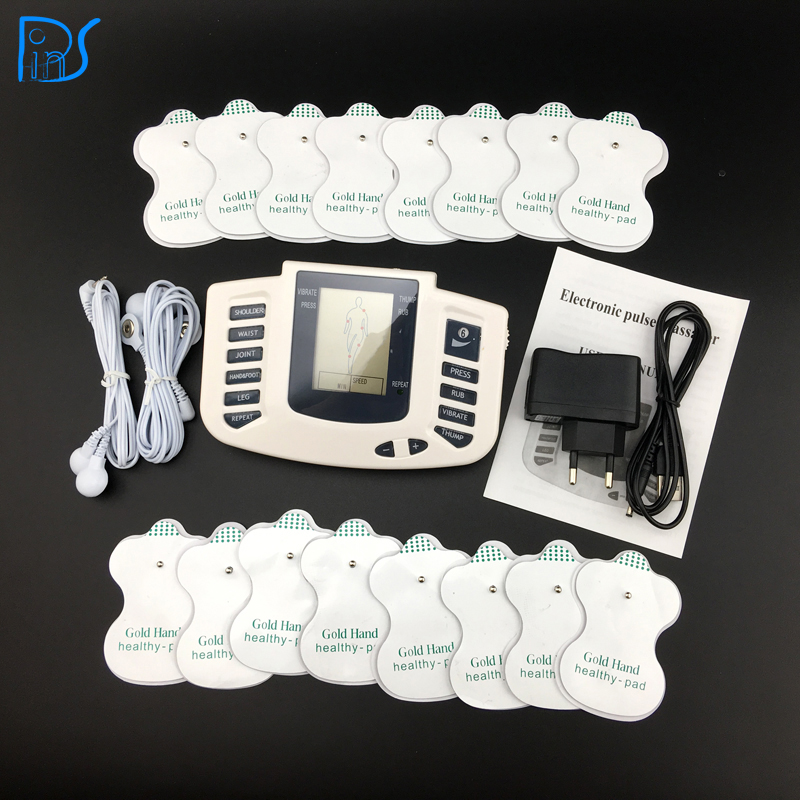 Electronic Body Slimming Pulse Massage for Muscle Relax Pain Relief Stimulator Massageador Tens Acupuncture Therapy Machine