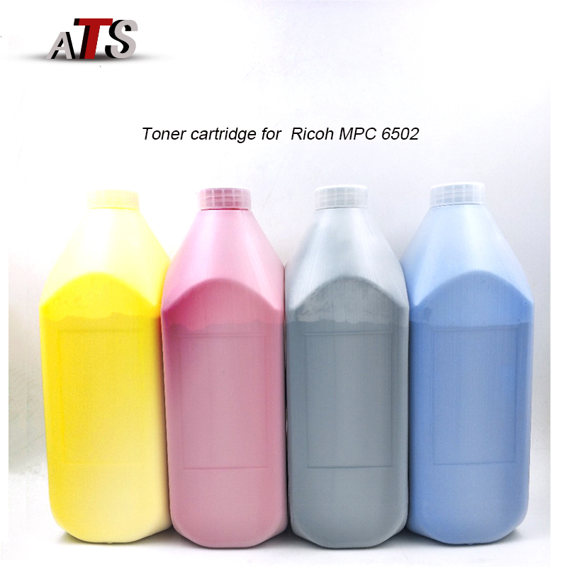 1 PCS Toner Cartridge for Ricoh MPC 6502 Photocopy machine Copier Spare Parts Compatible With Toner Powder compatible photocopier ricoh aficio 3224c 3232c toner powder toner powder for ricoh 3232c 3224c powder use for ricoh 3224 toner