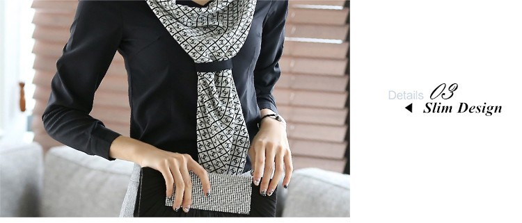 HTB1o0agJpXXXXcDXFXXq6xXFXXXj - Women's shirt slim formal scarf collar long-sleeve blouses