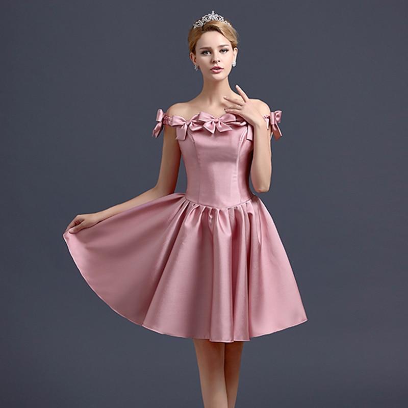 Vistoso De Los Vestidos De La Dama De Honor Hombro Ideas Ornamento ...