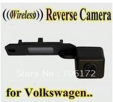WIRELESS Специальный Автомобильная камера Заднего вида Обратный резервного копирования Камера для VW GOLF PASSAT TOURAN CADDY ВЕЛИКОЛЕПНЫЙ/T5 TRANSPORTER/MULTIVAN