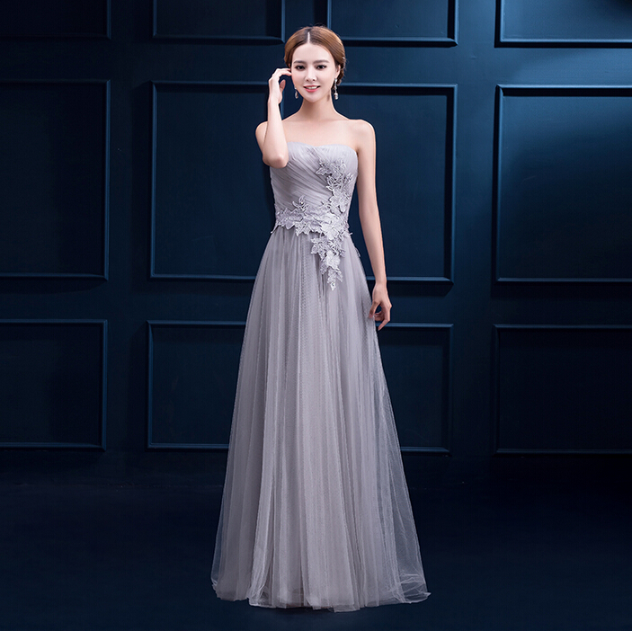 Online Get Cheap Lace Dark Gray Long Dress -Aliexpress.com ...