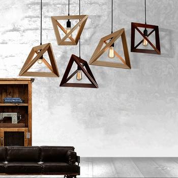 Minimalist Art Pendant Lights Hang Triangle Nordic Pendant Lights Living Room Bedroom Minimalist Restaurant Bar Dropshipping