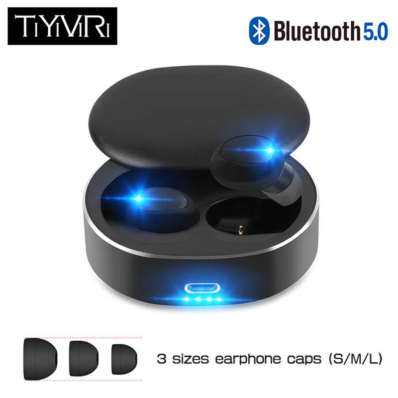 B20 Bluetooth 5.0 TWS Wireless Earphone 3D Stereo Bluetooth Earphones Touch Control Hifi Bass Mini Earbuds With Dual MIC