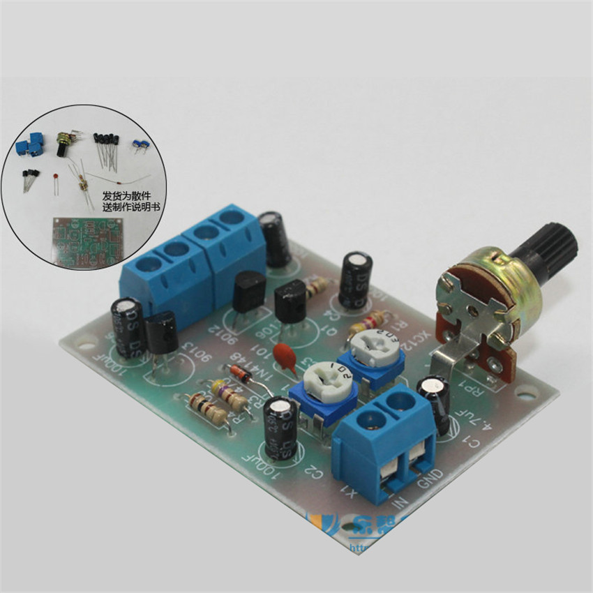 DIY kit OTL discrete component electronic power amplifier circuit board production suite diy electronice kit ...