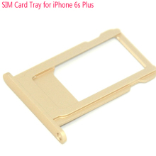 Original Replacement Part for iPhone 6S Plus SIM Card Tray Slot Holder, Sliver / Grey / Gold / Rose Gold, 5pcs/lot