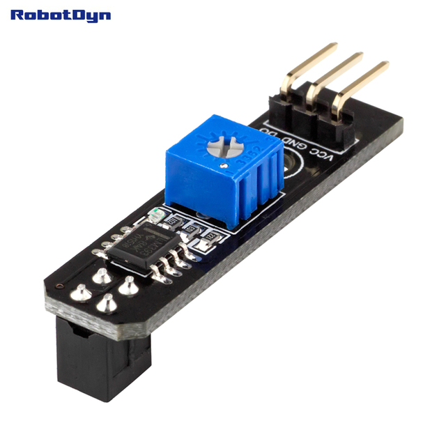 Line tracking Sensor. For robotic and car DIY Arduino projects. Digital Out.
