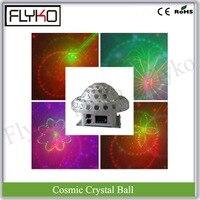 20 Вт Cosmic хрустальный шар лазерный эффект света 3 Вт X 6 шт. освещения DJ оборудование