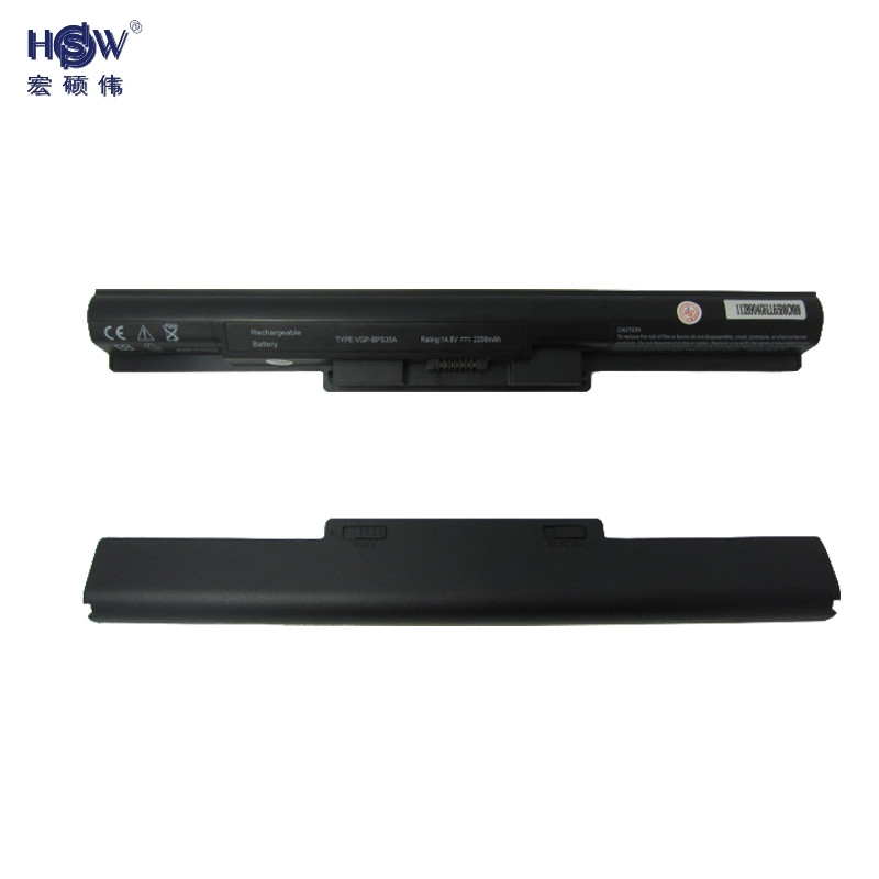 HSW notebook battery FOR SONY Vaio 14E 15E  SVF1521A2E SVF15217SC SVF14215SC SVF15218SC SVF15216SC  VGP-BPS35A 15v 3170mah kingsener vgp bps40 laptop battery for sony vaio flip 14a svf14n svf 15a svf15n17cxb vgp bps40 free 2 years warranty
