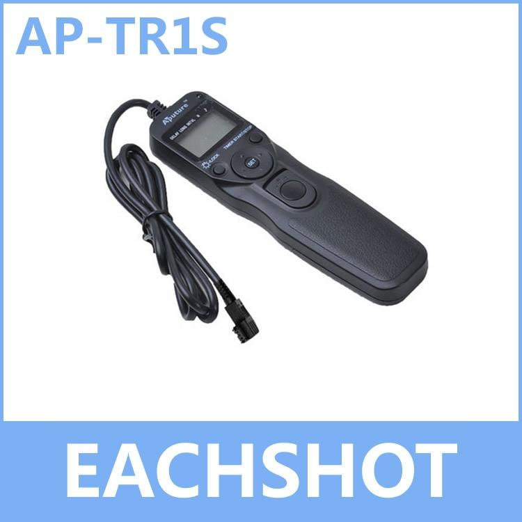 Aputure AP-TR1S, numérique LCD À Distance en Temps 1 S AP TR1S pour Sony A450 A55 A33 A500 A450 A550 A850 A900 A350 A300 A200 A700 A100