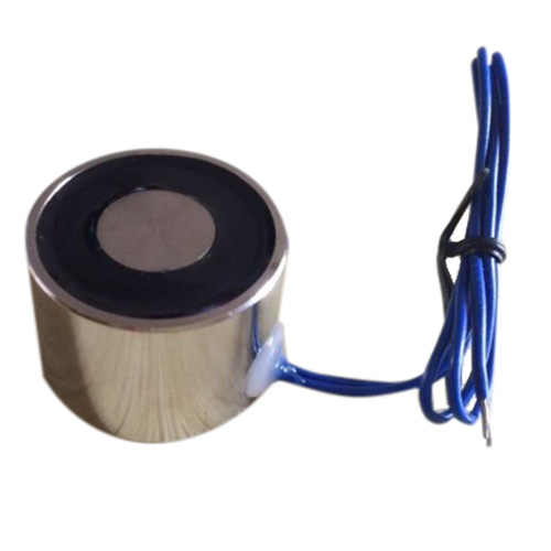 цена на 12V DC Sucked Type Electric Lift Lifting Holding Magnet Electromagnet Solenoid Lifting Force:P30/22 (22 LBS 10Kg)