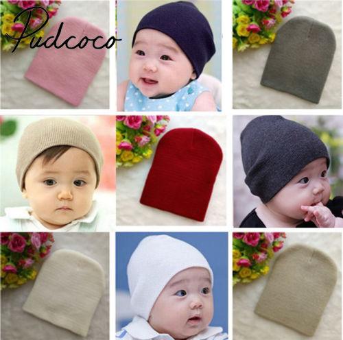 Newborn Warm Hat Baby Kid Boy Girl Infant Toddler Cotton Soft Elasticity Cap NEW