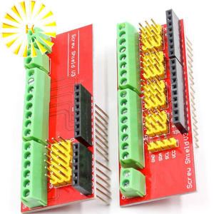 Screw Shield V1 terminal V3 expansion board is compatible UNO R3 Interactive Media Moudle for arduino