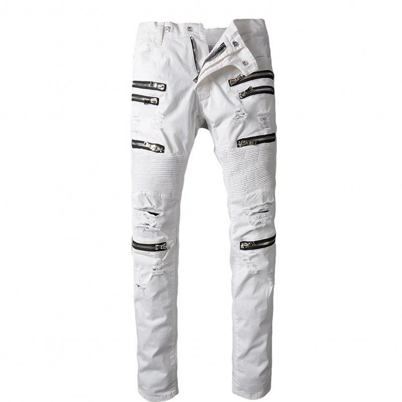 Online Buy Wholesale jeans white stitching from China jeans white ...