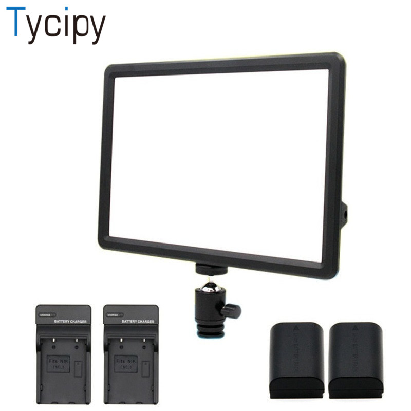 Здесь продается  Tycipy Dimmable Camera 3000k-4500k230ML 50000H LDE-007 LED Photo Studio Video Light Photography For DSLR NP-F550Battery and base  Бытовая электроника