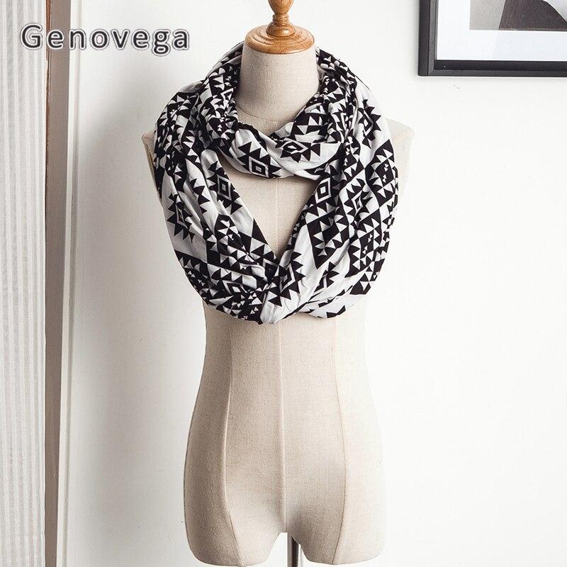 Genovega Pocket Scarf Women Осенний зимний теплый - Аксессуары для одежды