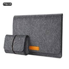 MOSISO Ultra Soft Sleeve Laptop Bag Case For MacBook Lenovo Dell HP Asus Computer Notebook Bag For Mac Book Air 13 Pro 13 Cover цена