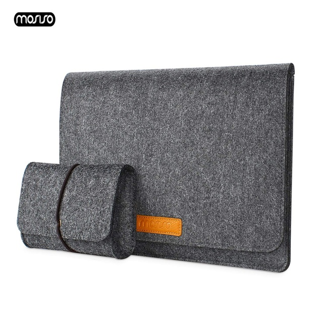 MOSISO Ultra Soft Sleeve Laptop Bag Case For MacBook Lenovo Dell HP Asus Computer Notebook Bag For Mac Book Air 13 Pro 13 Cover