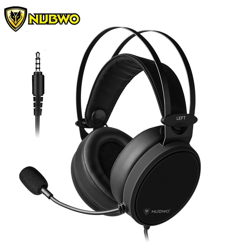 Nubwo N7 3 5mm Pc Headphone Gaming Headset Bass For Ps4 New Xbox One Mobile Phone Tablet Mac Computer Headphones With Microphone Headphone Headset Aliexpress