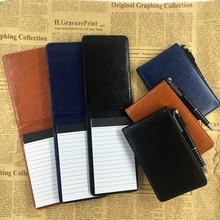 Продажа RuiZe Многофункциональный A7 планировщик карман ноутбук небольшой Блокнот записная книжка кожаный чехол Офис Бизнес записная книжка Примечание канцелярские