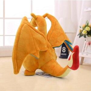 Image 5 - 21cm New Anime Charizard Center Mega Evolution Soft Plush Toys Hi Q PP Cotton Stuffed Animal Children Plush Doll Gift