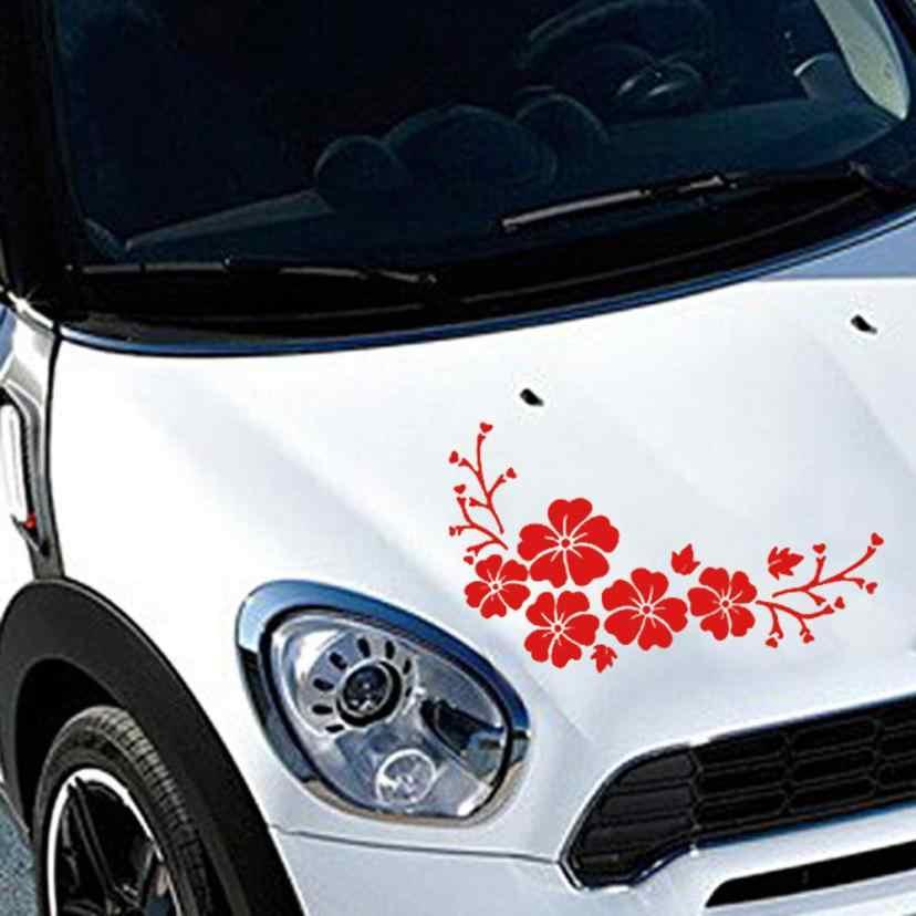 Car Decal Delicato Fiore Volante Auto Modello di Camion Cappuccio Autoadesivo Laterale Novembre 7