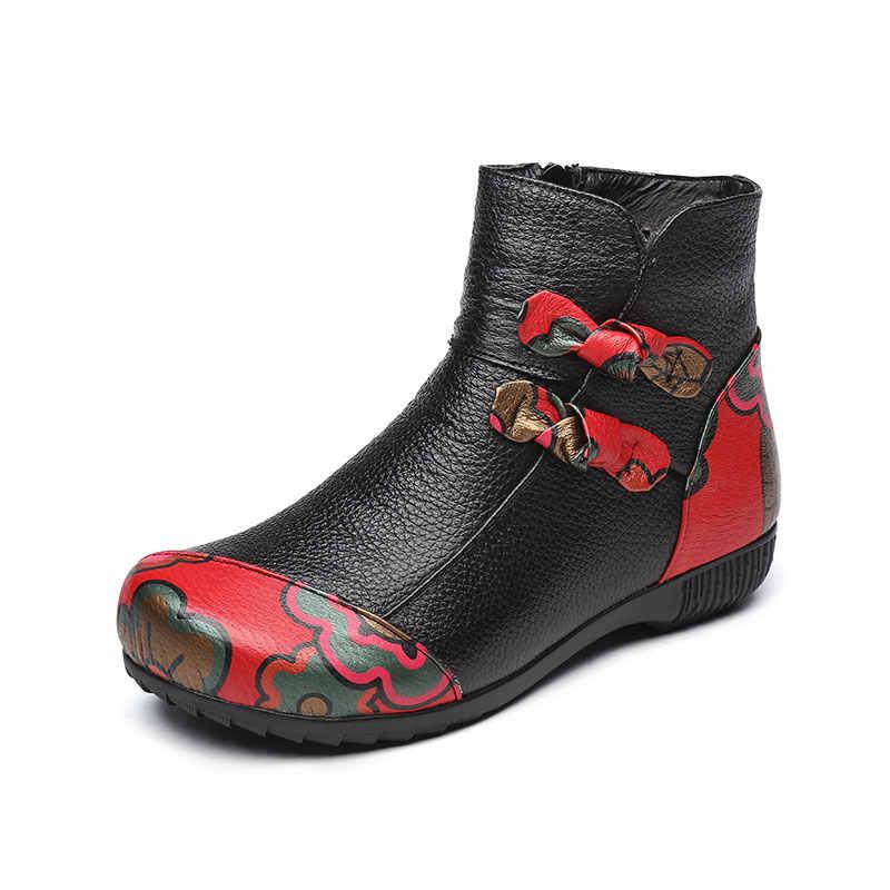 Xiuteng 2019 Hakiki Deri yarım çizmeler Bayanlar Rahat Sıcak Rahat Düz Yaz Çizme kadın ayakkabısı Kadın Kadın Ayakkabı