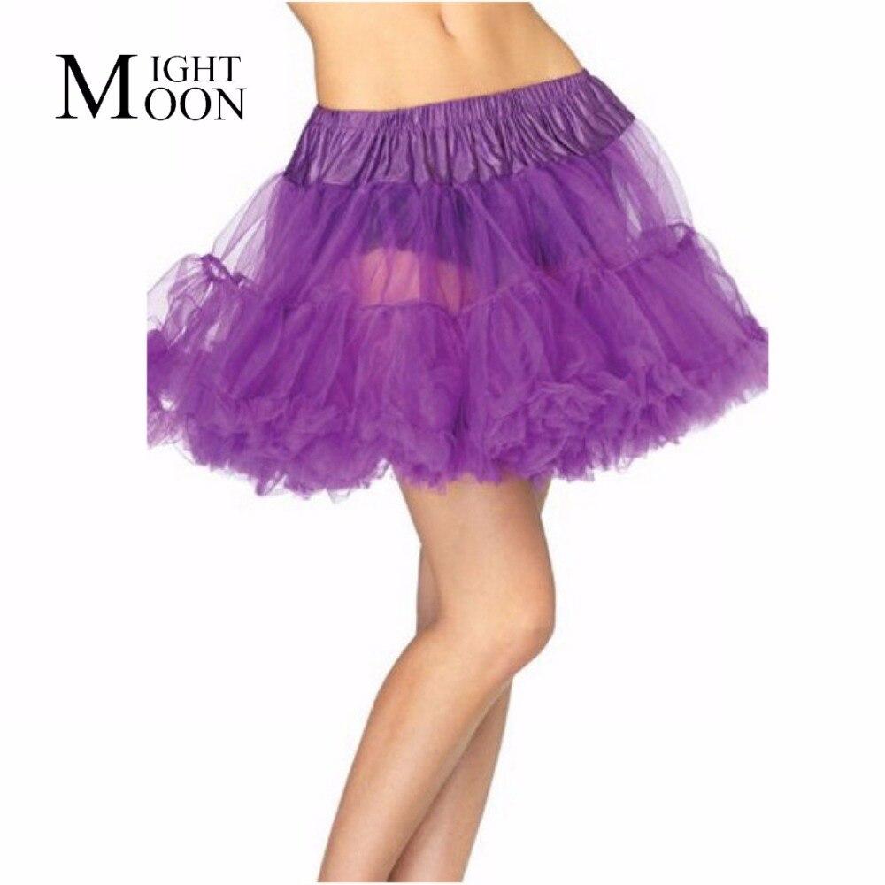 MOONIGHT Womens Mini Tutu Skirt Pettiskirt Ladies Belly Dance Wear Clothing Skrit Sexy Kilt Belly Dance Tulle Skirts Bottoms