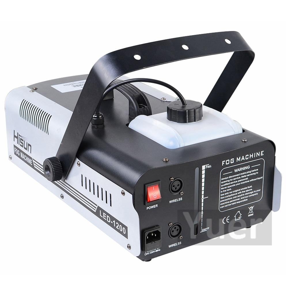 Image 3 - High Quality 1500W RGB LED Fog Stage Effect Smoke Machine Remote Control Smoke Machine Disco Stage Lighting Fog DJEquipment-in Stage Lighting Effect from Lights & Lighting