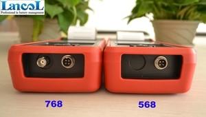 Image 5 - Lancol MICRO 568 12V โหลด Diagnosti กับเครื่องพิมพ์แบบดิจิตอล SOC SOH CCA IR CCA100 2000