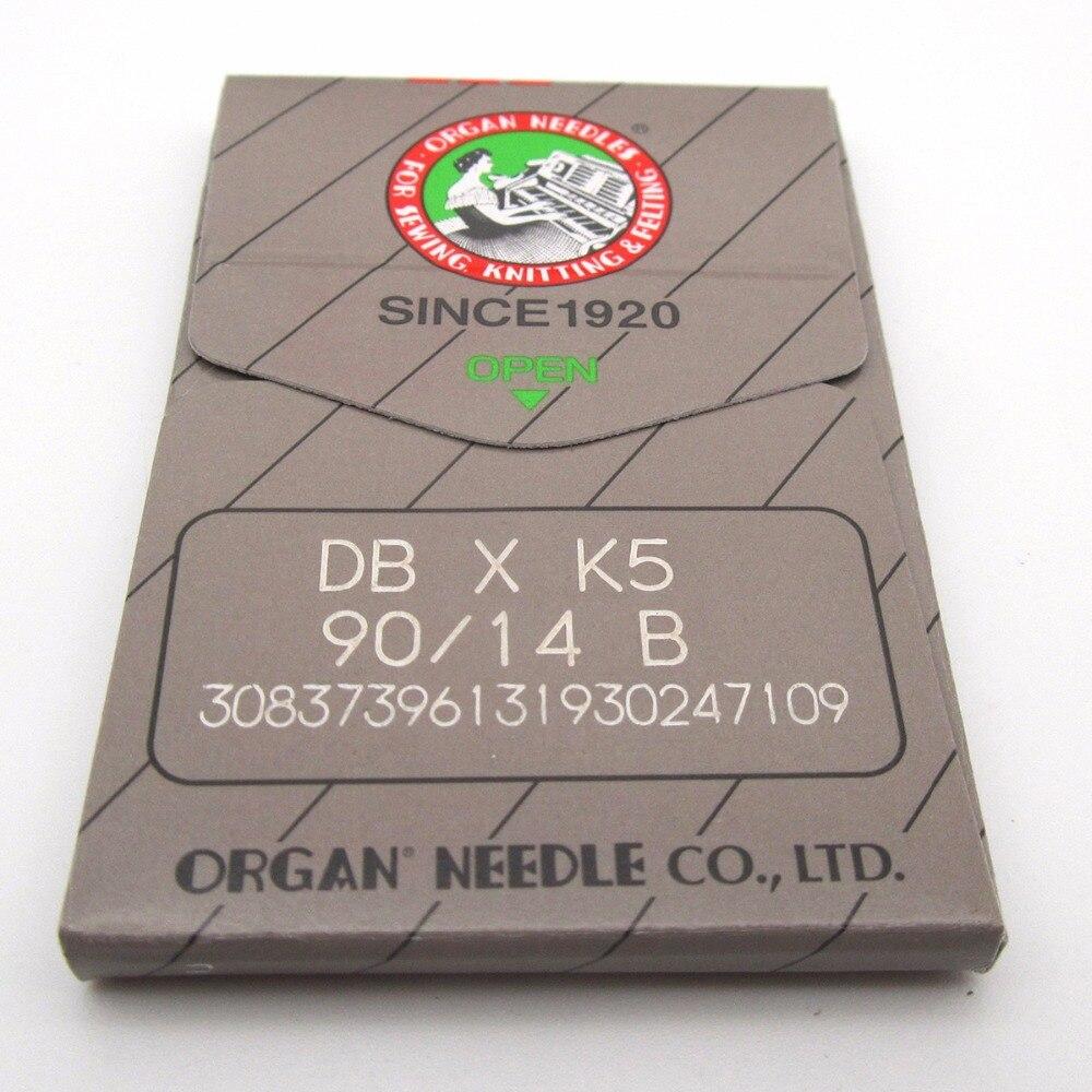 KUNPENG 100 Organ DBXK5 BALL POINT Needles fit for Tajima Barudan SWF Embroidery Machines Size 60//8
