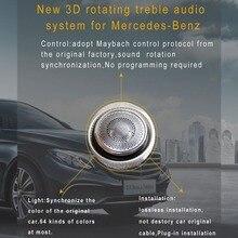 Car styling Door Speaker Design Interior Mouldings Decoratio