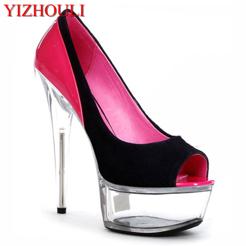 Womens shoes are sexy platforms with high - and high-heeled dancing shoes, womens wedding shoes 15cmWomens shoes are sexy platforms with high - and high-heeled dancing shoes, womens wedding shoes 15cm
