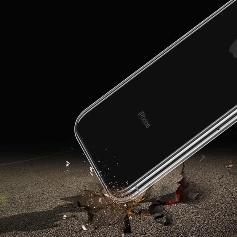 De silicona suave para iPhone XS Max XR X Coque iPhone 7 7Plus 6 S 6 S 4S 3 4S 5 5S 5SE 6Plus 7 7 8 Plus cubierta TPU estuche
